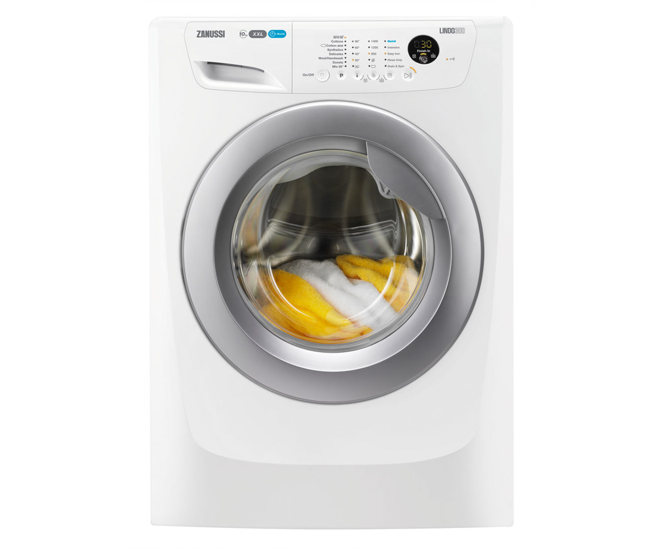 Zanussi Lindo300 Zwf01483wr 10kg Washing Machine With 1400 Rpm Indesit Motor Wiring Diagram White A Rated
