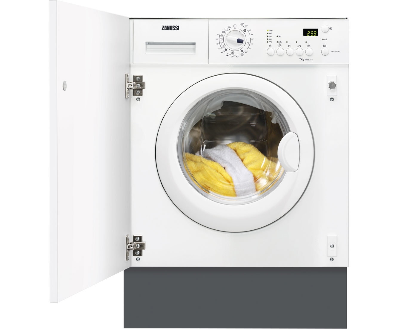 Zanussi ZWi71201WA Integrated Washing Machine in White