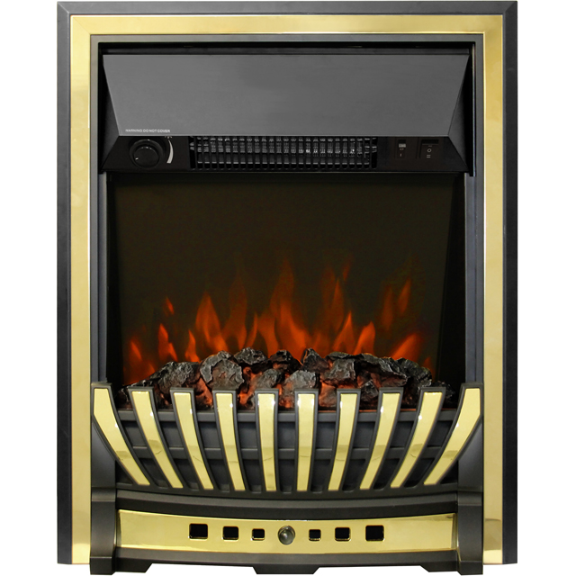 BeModern Bayden 01950x Inset Fire in Brass