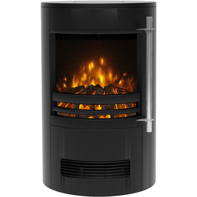BeModern Tunstall 02757X Log Effect Electric Stove - Black - 02757X_BK - 1