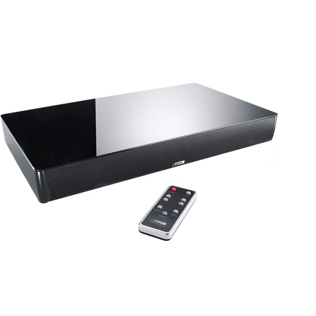 Canton DM55 2.1 Virtual Surround Bluetooth Soundbase with Built-in Subwoofer - Black - 03662 - 1