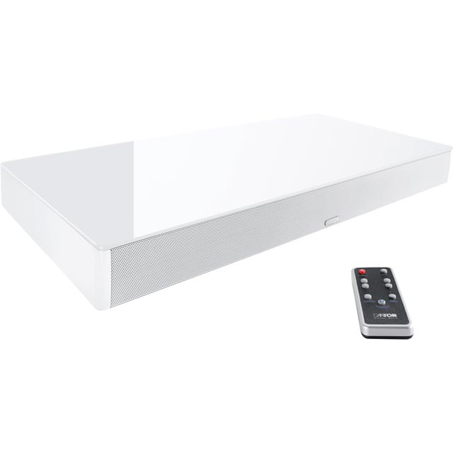 Canton DM55 2.1 Virtual Surround Bluetooth Soundbase with Built-in Subwoofer - Silver - 03664 - 1