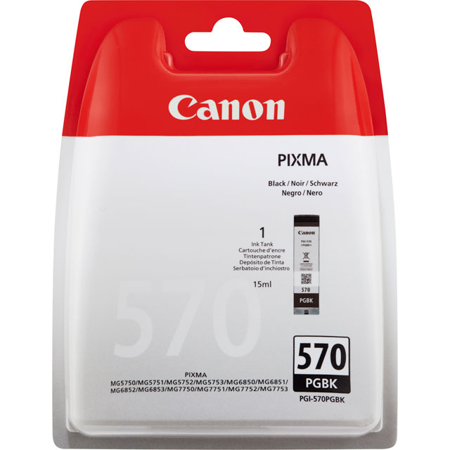 Canon PGI-570PGBK Printer Ink Cartridge