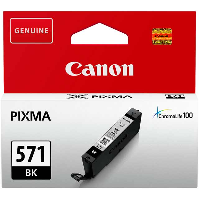 Canon CLI-571BK Black Ink Cartridge