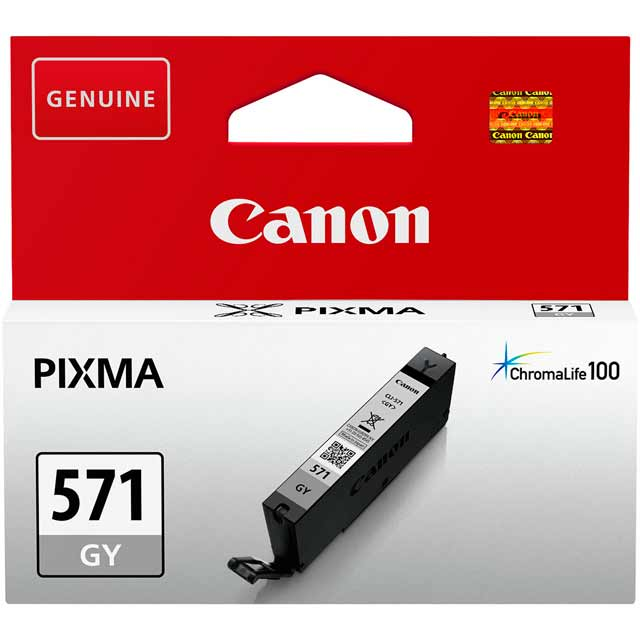 Canon CLI-571GY Grey Ink Cartridge