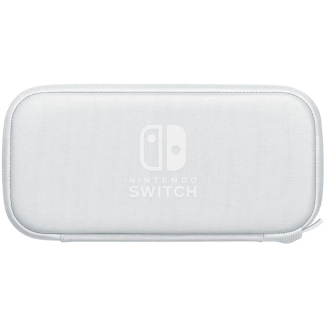Nintendo Case & Screen Protector - White