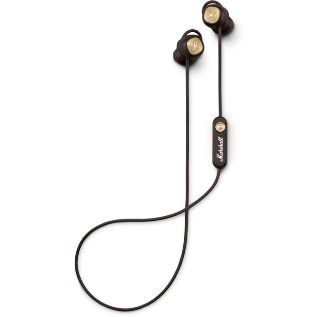 Marshall Minor II BT 1001894 Headphones in Brown