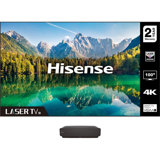 """Image of Hisense 100L5FTUK 100"""" Laser TV With Short Throw Projector"""