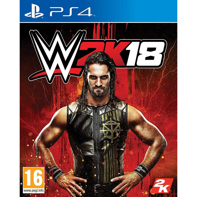 WWE 2K18 for Sony PlayStation Game
