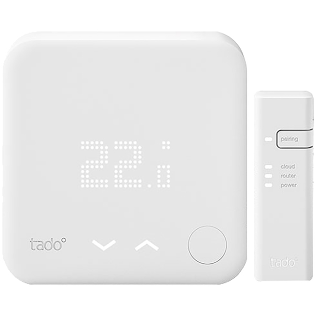 tado Smart Radiator Thermostat - Starter Kit V3+ - DIY Install - White - 103110 - 1