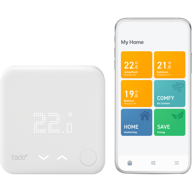 tado Smart Thermostat - Starter Kit V3+ - DIY Install - White