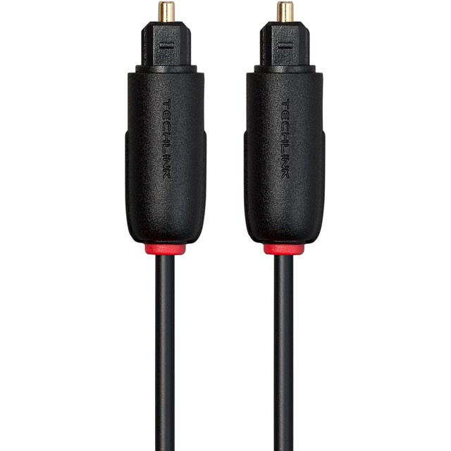 Techlink 1m Optical Cable - Black