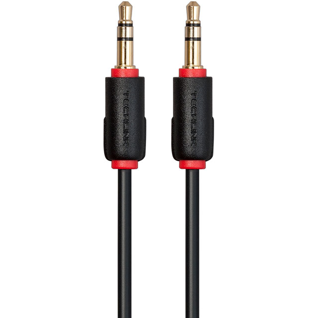 Techlink 103263 3m 3.5mm Stereo Cable - Black