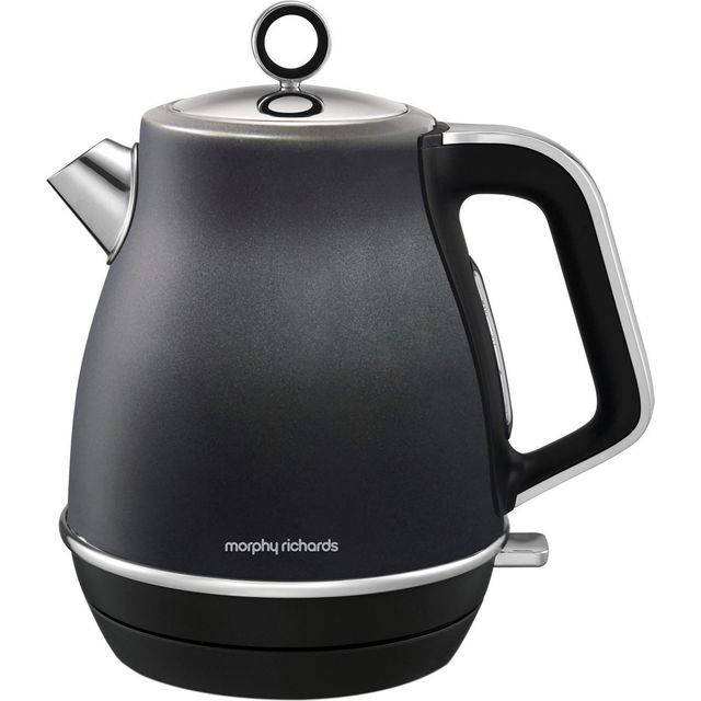 Morphy Richards Evoke 104405 Kettle - Black - 104405_BK - 1