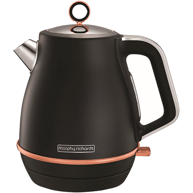 Morphy Richards Evoke Special Edition 104414 Kettle - Black / Rose Gold - 104414_BKR - 1