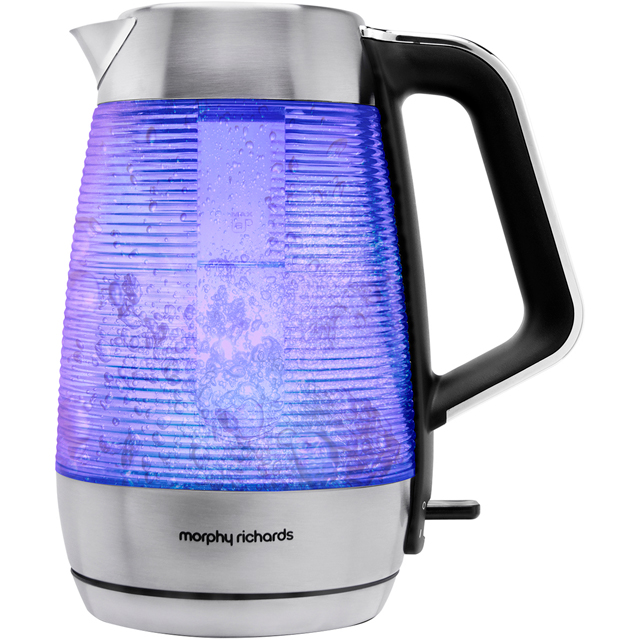Morphy Richards Vetro Illuminating 108010 Kettle - Brushed Stainless Steel