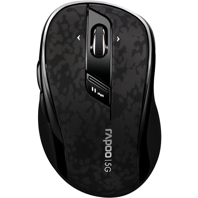 Rapoo 7100P Wireless USB Optical Mouse - Black