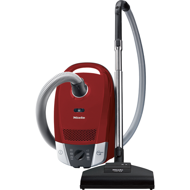Miele Compact C2 Cat And Dog PowerLine 10931650 Cylinder Vacuum Cleaner - Red - 10931650_RD - 1