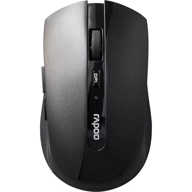 Rapoo 7200P Wireless USB Optical Mouse - Black - 10936 - 1