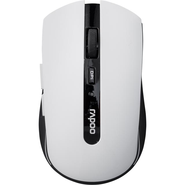 Rapoo 7200P Wireless USB Optical Mouse - White