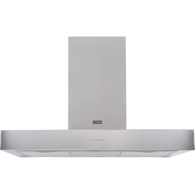 Stoves 110 cm Chimney Cooker Hood - Stainless Steel - C Rated