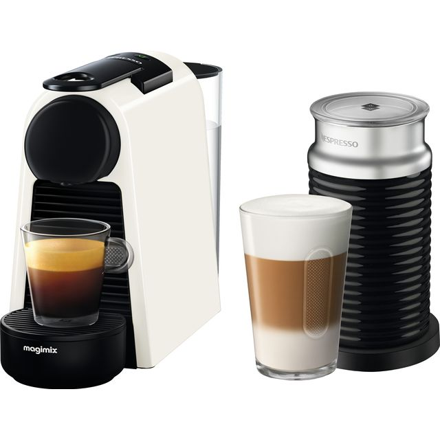 Nespresso by Magimix Essenza Mini & Milk 11372 - White