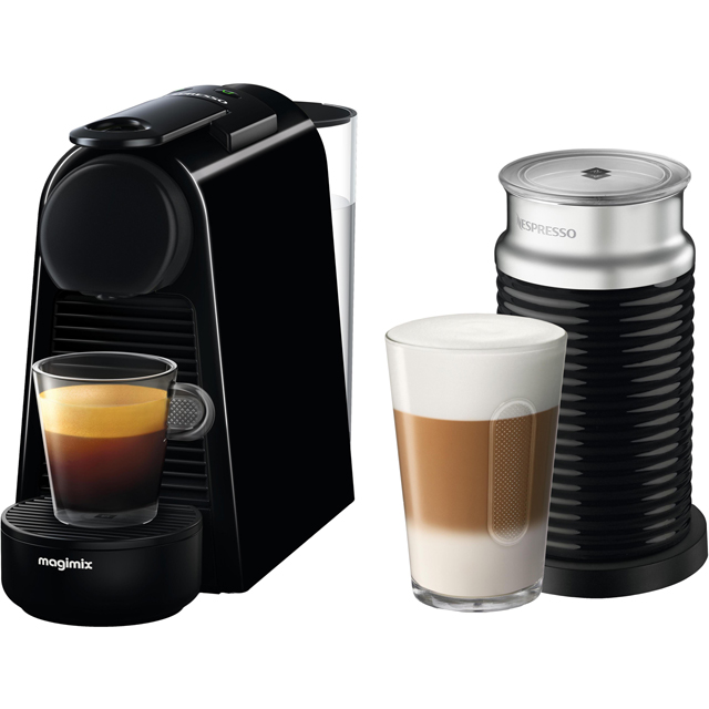 Nespresso by Magimix Essenza Mini & Milk 11377 - Black