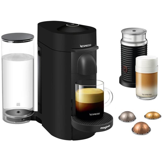 Nespresso by Magimix Vertuo Plus & Milk 11387 Nespresso in Black