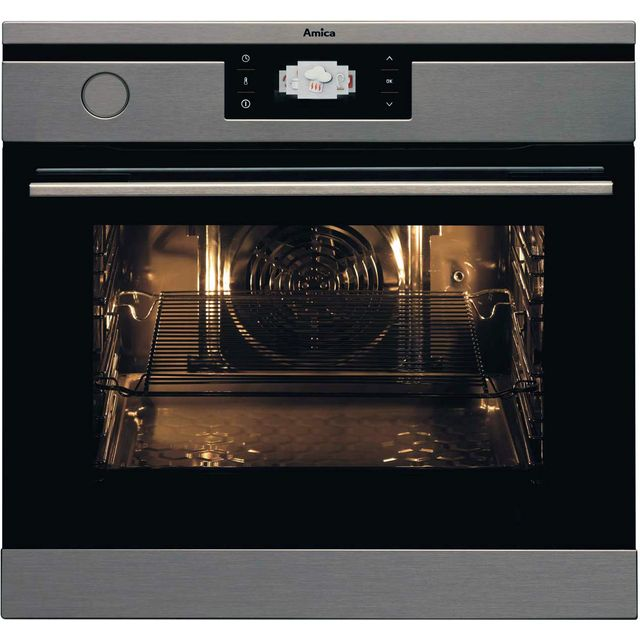 Amica 1143.3TpX Built In Electric Single Oven - Stainless Steel - A Rated - 1143.3TpX_SS - 1