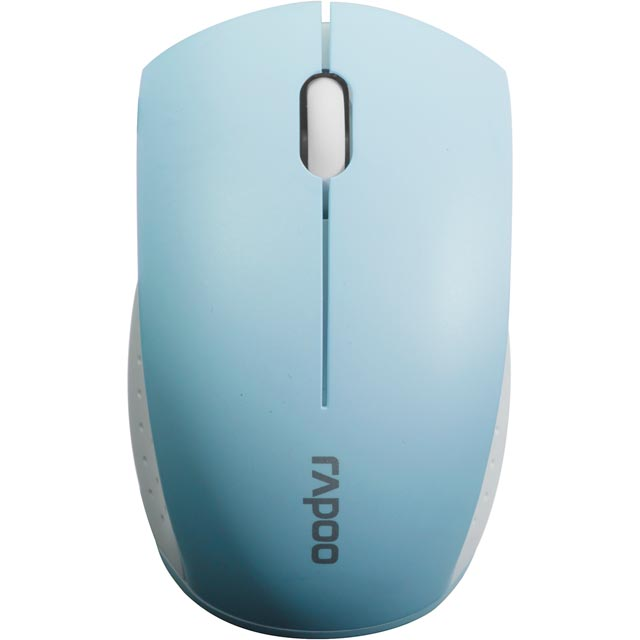 Rapoo 3360 Mini Wireless USB Optical Mouse - Blue - 11601 - 1