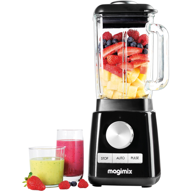 Magimix Le Blender 11610 with 4 Accessories - Black - 11610_BK - 1