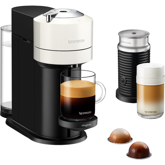 Nespresso by Magimix Vertuo Next 11706 Pod Coffee Machine - White