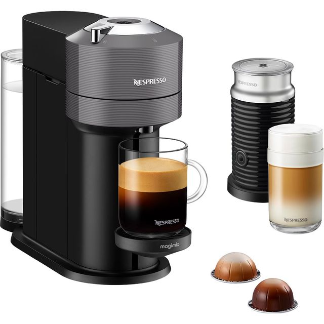 Nespresso by Magimix Vertuo Next 11707 Pod Coffee Machine - Dark Grey