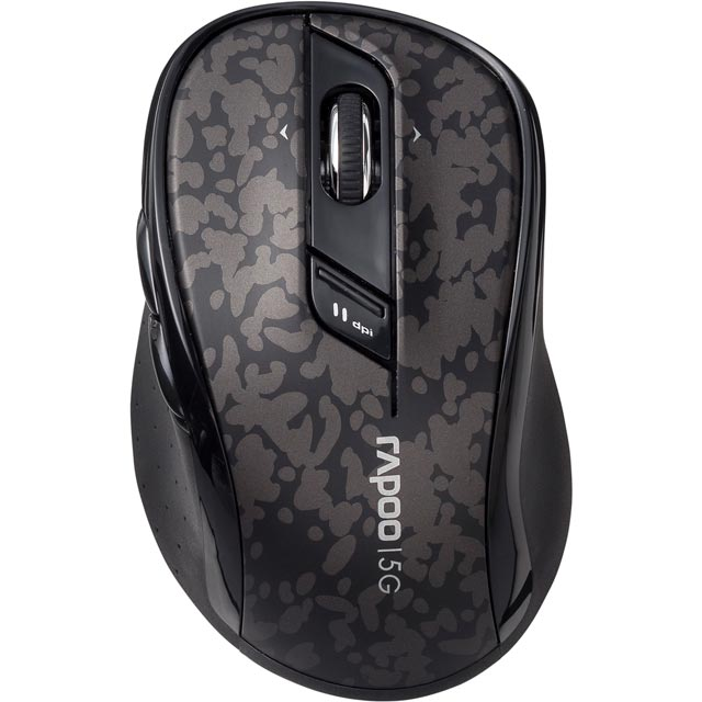 Rapoo 7100P Wireless USB Optical Mouse - Grey