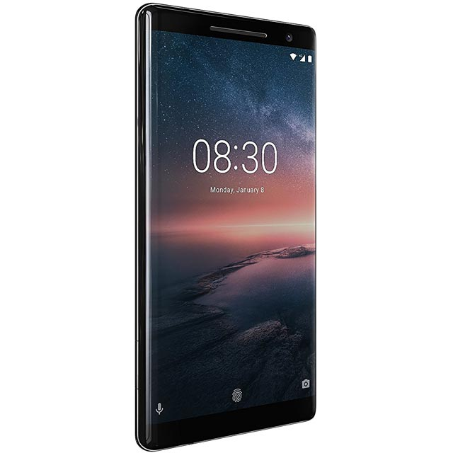 Nokia 8 Sirocco 128GB Smartphone in Black