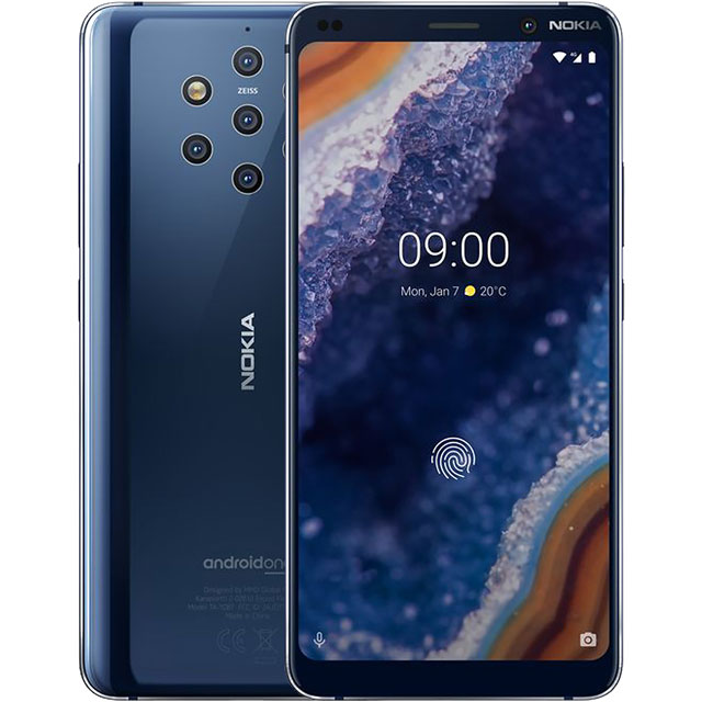 Nokia 11AOPL01A01 Mobile Phone in Midnight Blue