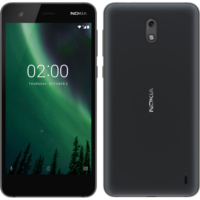Nokia 2 8GB Smartphone in Black