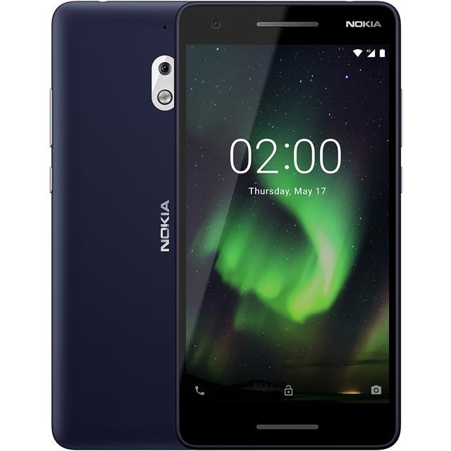 Nokia 2.1 11E2MX01B08 Mobile Phone in Blue / Copper
