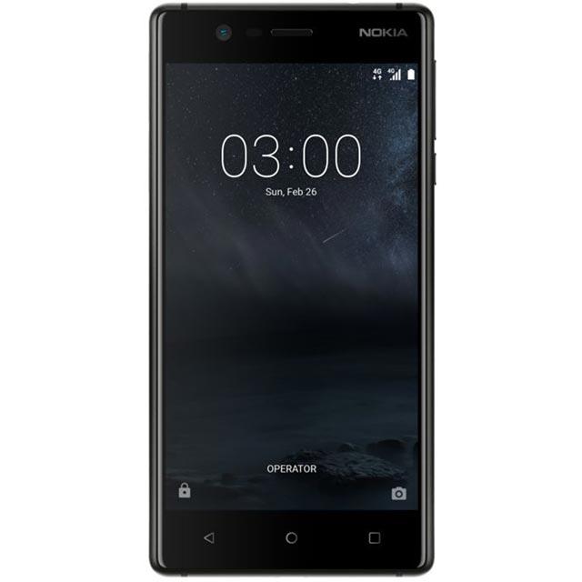 Nokia Nokia 3 11NE1B01A01 Mobile Phone in Black