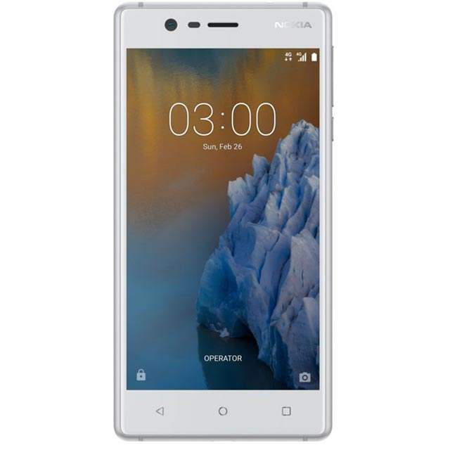 Nokia 3 16GB Smartphone in White
