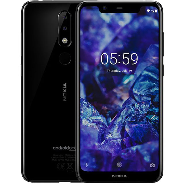 Nokia 5.1 Plus 32GB Smartphone in Black