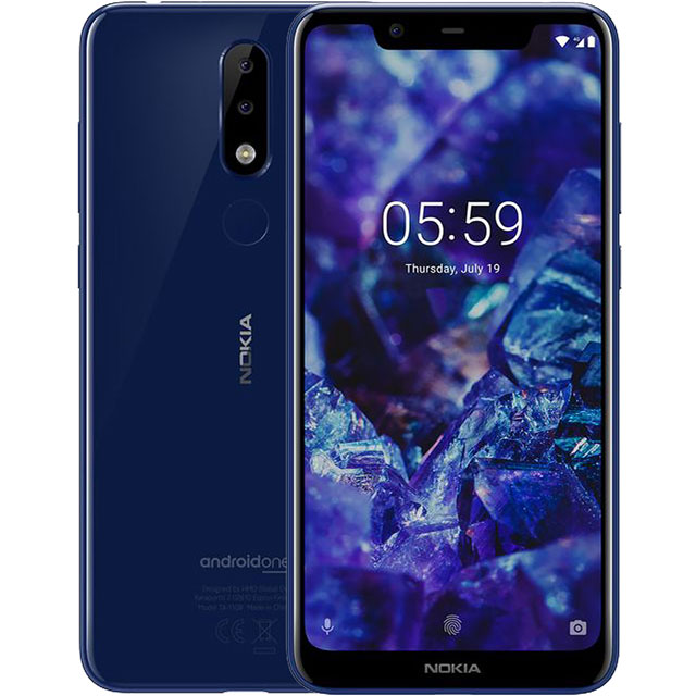Nokia 5.1 Plus 32GB Smartphone in Blue