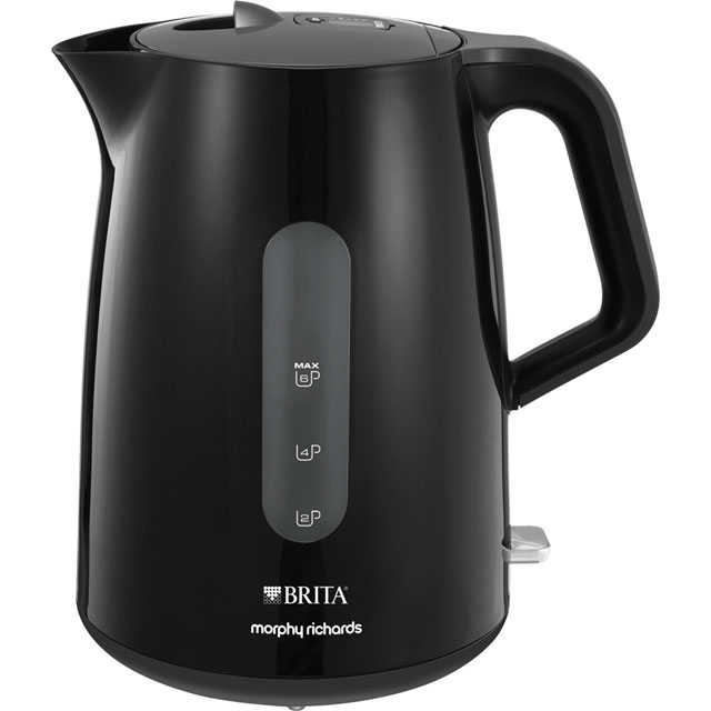 Morphy Richards Brita Filter 120009 Kettle - Black - 120009_BK - 1