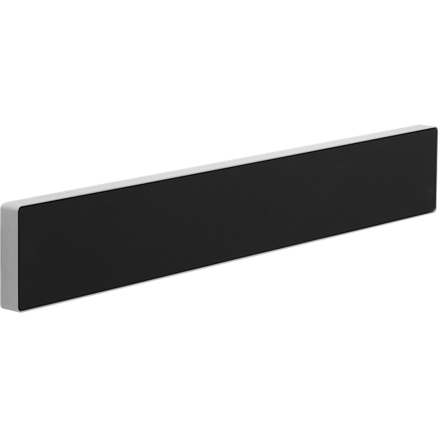 Bang & Olufsen Beosound Stage All-in-One Soundbar with Built-In Subwoofer and Dolby Atmos - Black / Aluminium