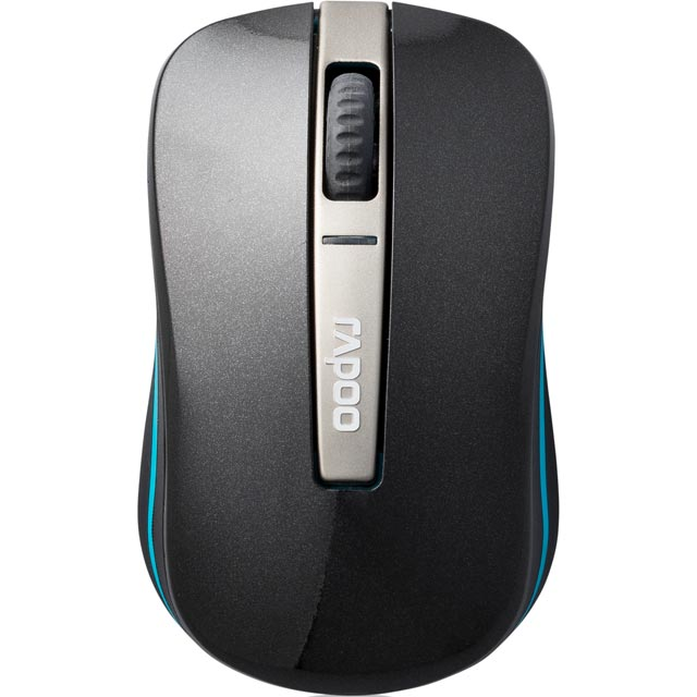 Rapoo 6610 Dual Mode Wireless USB / Bluetooth Optical Mouse - Black