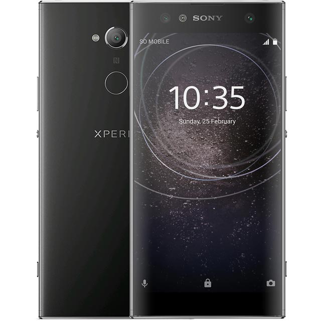 Sony XA2 Ultra 32GB Smartphone in Black