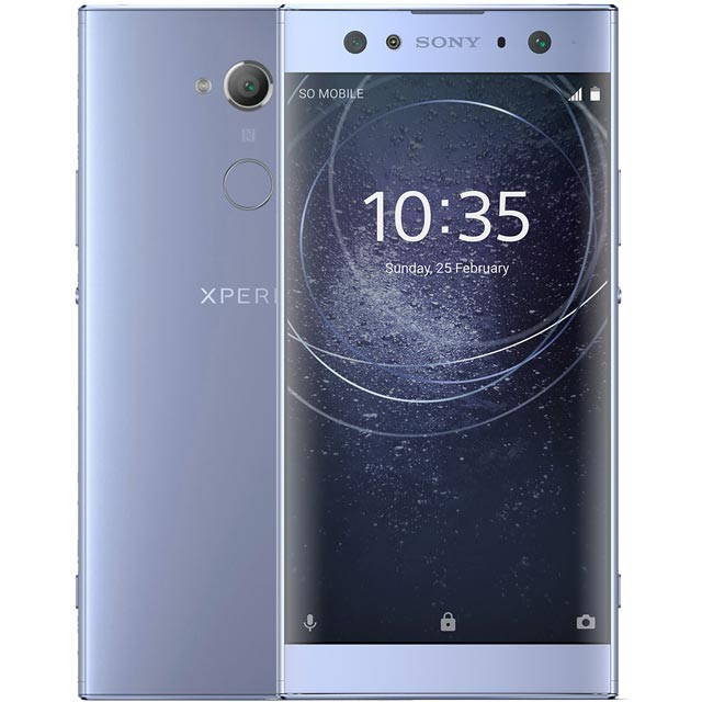 Sony XA2 Ultra 32GB Smartphone in Blue