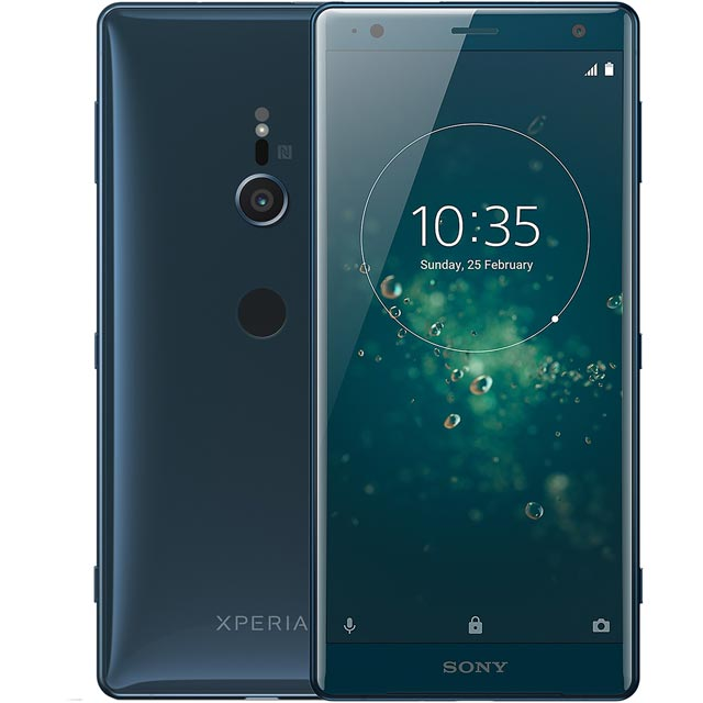 Sony Xperia XZ2 64GB Smartphone in Deep Green / Blue