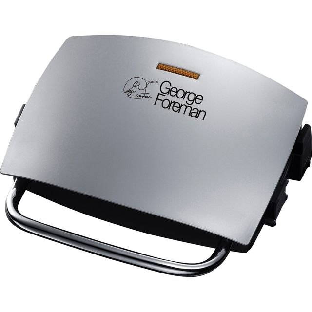 George Foreman 14181 Health Grill in Silver