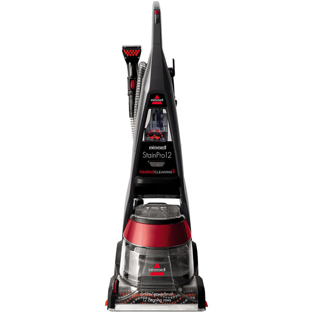 Bissell Stain Pro 12 14562 Carpet Cleaner - Titanium / Red - 14562_TIR - 1